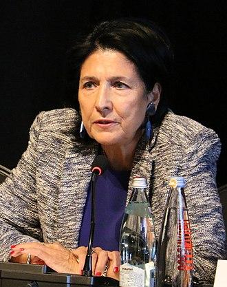 Salome Zourabichvili - Zourabichvili in 2018