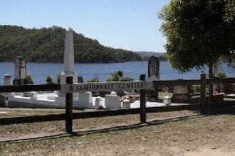 Samsonvale, Queensland - Image: Samcem 5287w