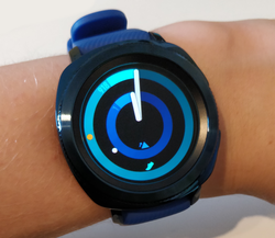 Samsung Gear Sport - On wrist.png