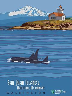 San Juan Islands National Monument National monument in Washington, United States
