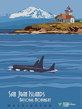 San Juan Islands National Monument - Image: San Juan Islands National Monument Poster (15962292426)