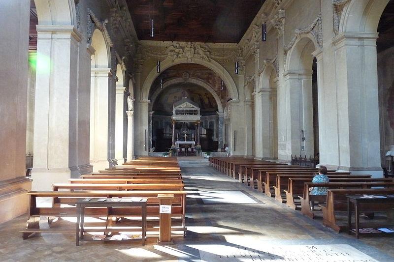 Fil: San Pancrazio i Gianiculo (Roma) - interior.JPG
