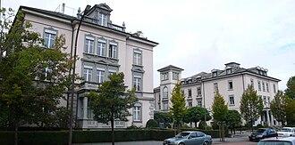 Kreuzlingen - Part of the former Sanatorium