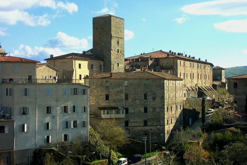 Santa Fiora, Palazzo Sforza Cesarini, torre della Rocca Aldobrandesca (Santa Fiora)