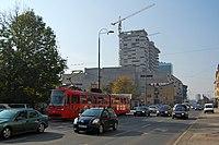 Sarajevo Tram-507 Line-3 2011-10-31.jpg