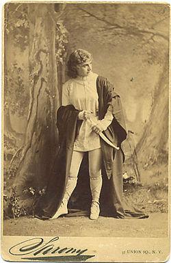 Sarony, napoleon   adelaide neilson