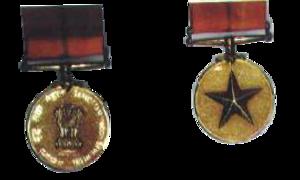 Sarvottam Yudh Seva Medal - Image: Sarvottam yuddh seva medal