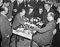 Schaaktoernooi Najdorf tegen Van Schellingen met Reskevsky, Bestanddeelnr 904-3349.jpg