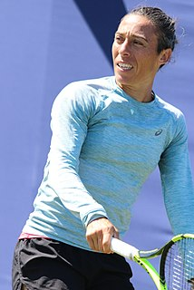 Francesca Schiavone Italian tennis player