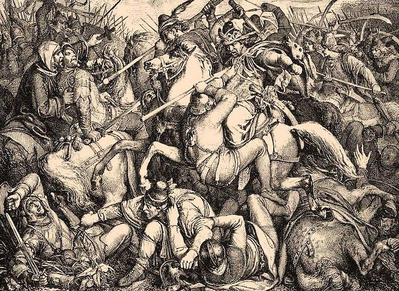 Peter Johann Nepomuk Geiger: Schlacht bei Pressburg (1850)