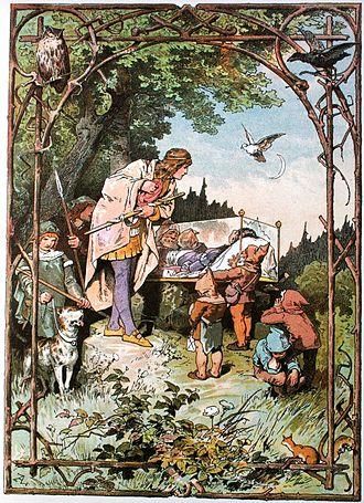 Snow White - Schneewittchen by Alexander Zick