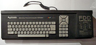 Amstrad CPC - A CPC664 main unit (German Schneider-brand variant)