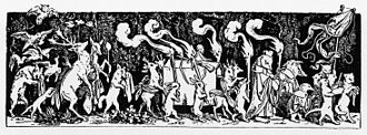 Symphony No. 1 (Mahler) - The Hunter's Funeral. This woodcut by Moritz von Schwind (1850) was possibly the inspiration for this 3rd movement of Mahler's Symphony No. 1.