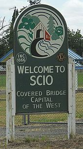 Scio, Oregon, welcome sign.jpg