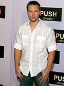 Scott Porter at the premiere of Push.jpg