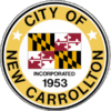 Official seal of New Carrollton, Maryland
