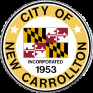 New Carrollton, Maryland - Image: Seal of New Carrollton, Maryland