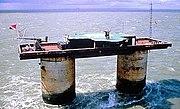Sealand reclama soberanía sobre el área de Roughs Tower y sus aguas territoriales