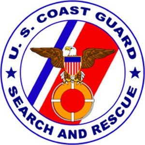 United States Coast Guard - Search and Rescue Program Logo of the United States Coast Guard.