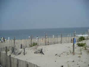 Seaside Park, New Jersey - Seaside Park beach