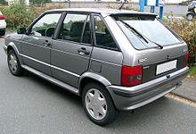 Seat Ibiza Mk1 Facelift Rear View