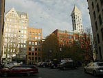 Seattle - Pioneer Square Park from Post Alley 01A.jpg