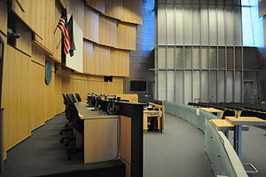 Seattle City Council - The Council chamber
