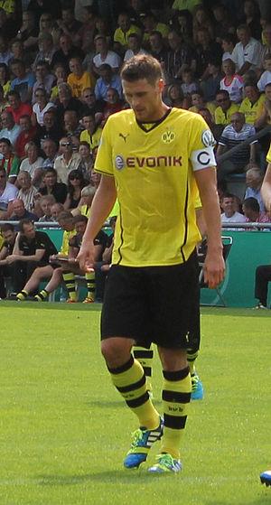 Sebastian Kehl - Kehl in action for Borussia Dortmund in 2013