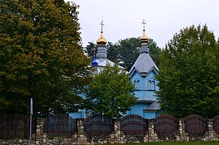 Sekun Starovyzhivskyi Volynska-Saint Michael church-north-west view.jpg