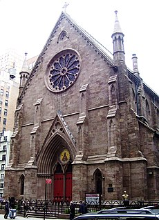 Trinity Chapel Complex Church in New York City, United States