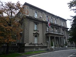 Serbian presidential residence in Beograd, October 13, 2012.jpg