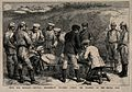 Serbo-Bulgarian War; russian General Dragimiroff being treat Wellcome V0015492.jpg