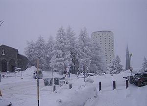 Sestriere - Sestriere in winter