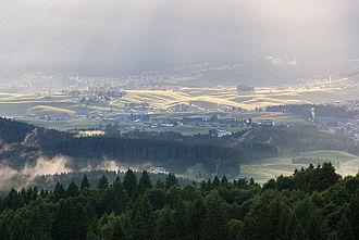 Asiago - the town of Asiago.