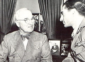 Mutual Defense Assistance Act - Mohammad Reza Shah Pahlavi and President Harry Truman, 1949