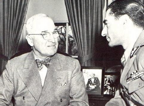 Shah & Harry Truman