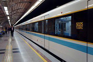 Tehran Metro rapid transit system of Tehran, Iran