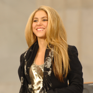 Shakira at the inauguration of Barack Obama
