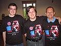 Shawn Healy, John Alex Golden, Charley Conrad at the convention (191765846).jpg
