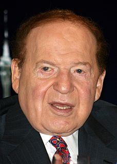 Sheldon Adelson American businessman, investor, and philanthropist