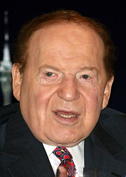 Sheldon Adelson crop