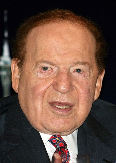 Sheldon Adelson, American businessman, investor, philanthropist, and political donor