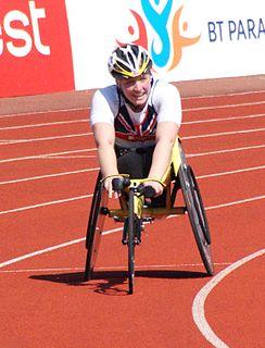 Shelly Woods British Paralympic athlete (born 1986)
