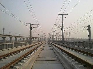 Shijiazhuang–Wuhan high-speed railway railway line