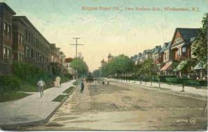 Shippen Street (Weehawken) - Image: Shippenstreetpostcar d