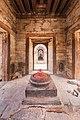Shiva linga inside Pandra Shivalaya -Pashupatinath Temple-1888.jpg
