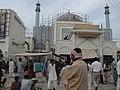 Shrine of great saint Lal Shahbaz Qalandar Renovation.jpg
