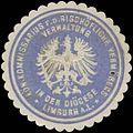 Siegelmarke Kön. Kommissarius für das Bischöfliche Vermögens in der Diöcese Limburg a.L. W0340827.jpg