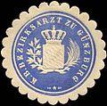 Siegelmarke Königlich Bayerischer Bezirksarzt zu Günzburg W0226214.jpg