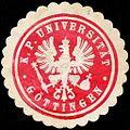Siegelmarke Königlich Preussische Universität - Göttingen W0219220.jpg